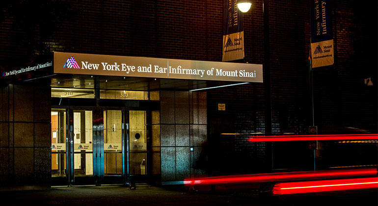 New York Eye and Ear Infirmary Building Exterior