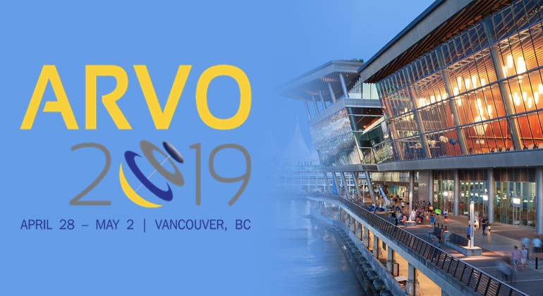 ARVO 2019 April 28 - May 2, Vancouver, BC