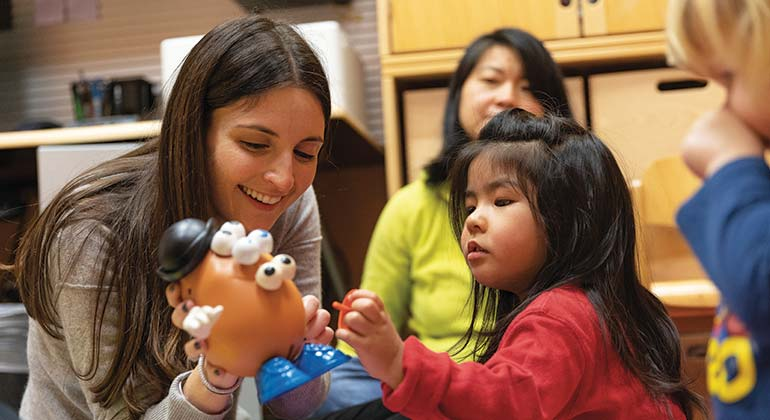 Children's Hearing Program NYC | New York Eye & Ear