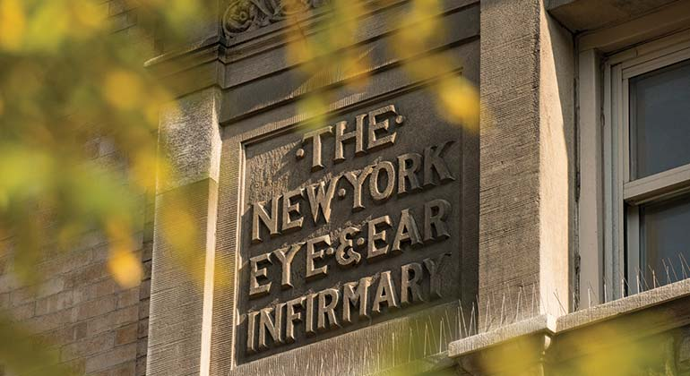 Exterior of the New York Eye and Ear Infirmary