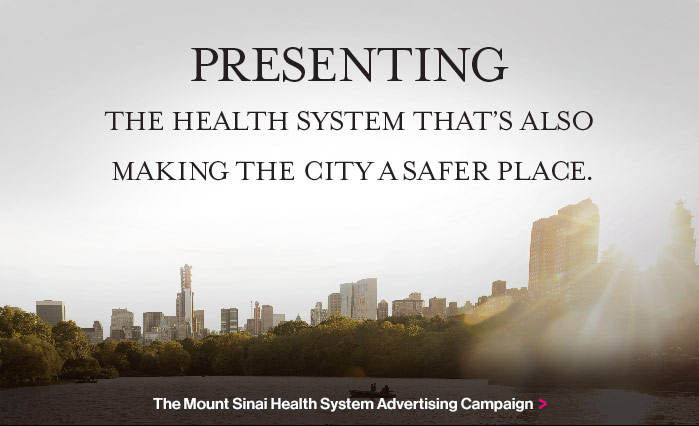 Presenting the Health System that's also making the city a safer place.