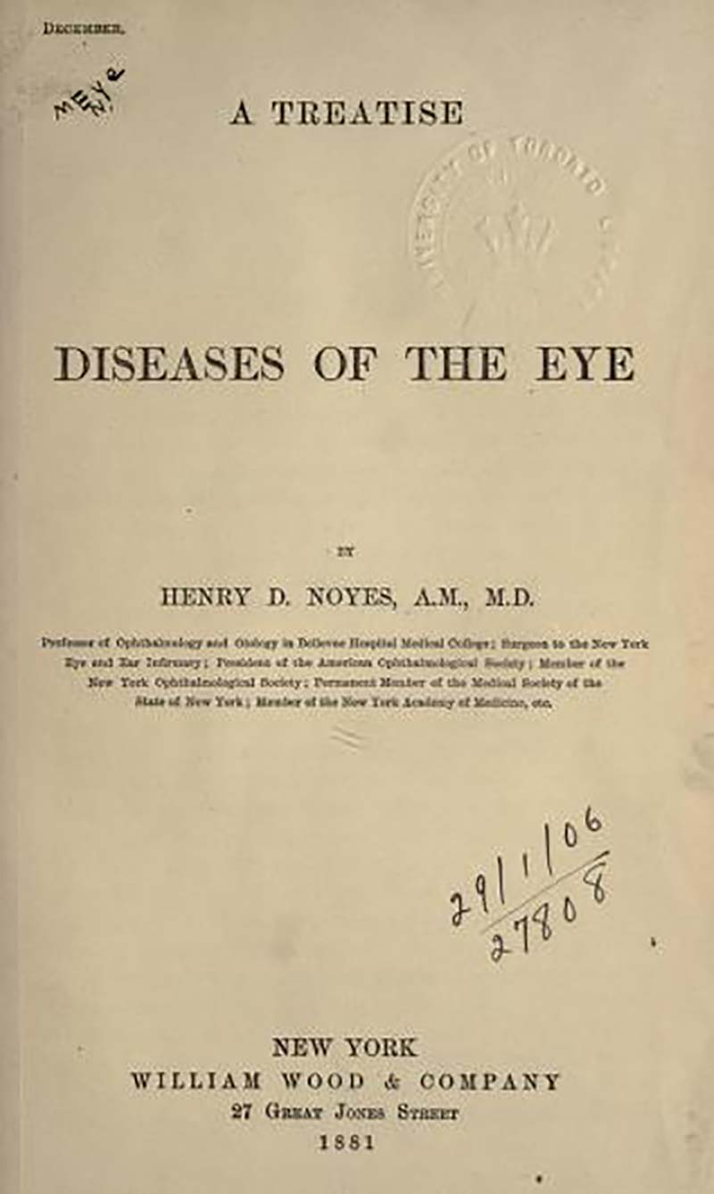 Textbook on the Diseases of the Eye